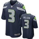 Seattle Seahawks - R. Wilson #3 Home Jersey