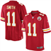Kansas City Chiefs - A. Smith #11 Home Jersey