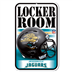 Jacksonville Jaguars - Locker Room Sign WH